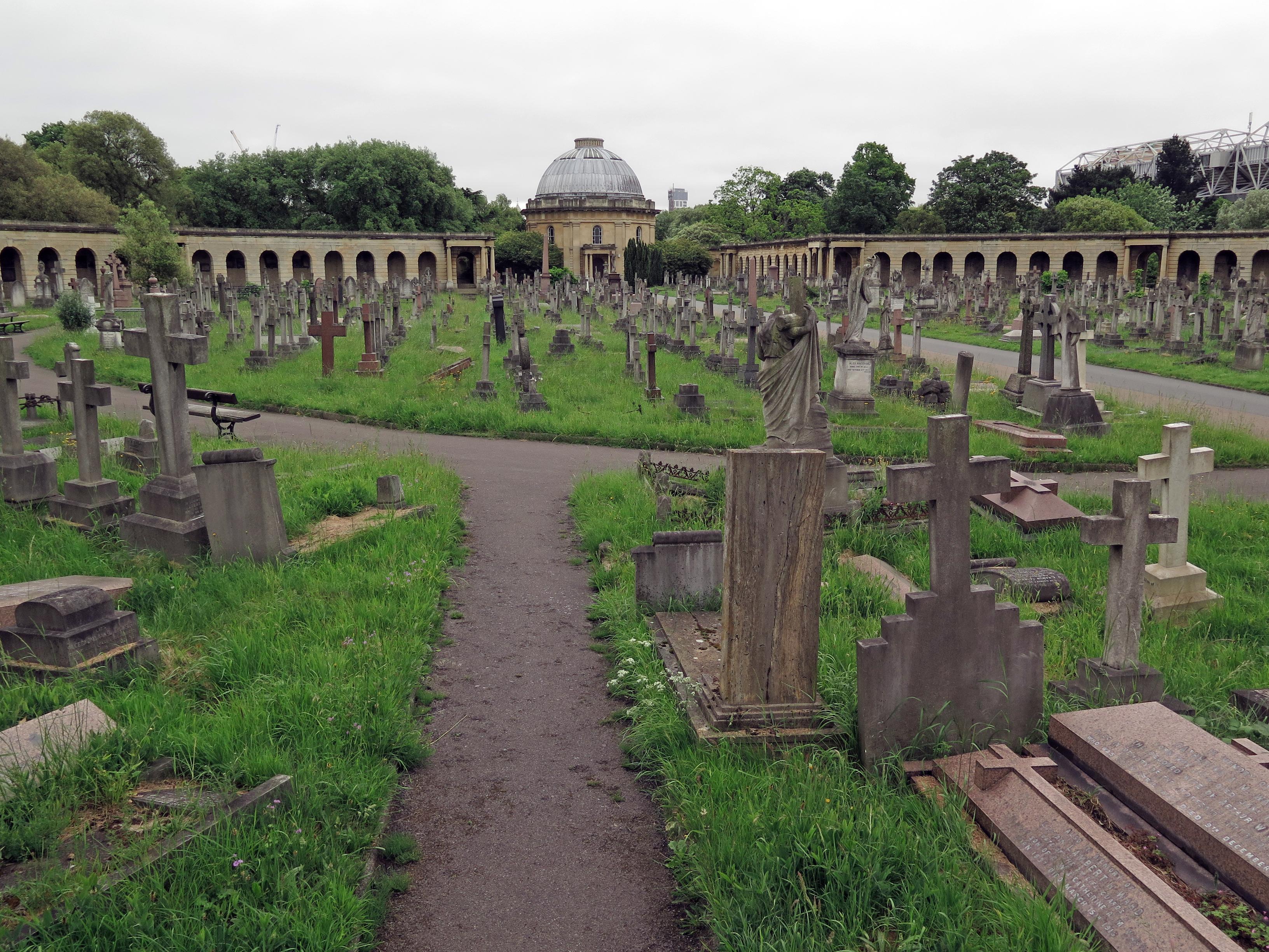 Graveyard Brompton London